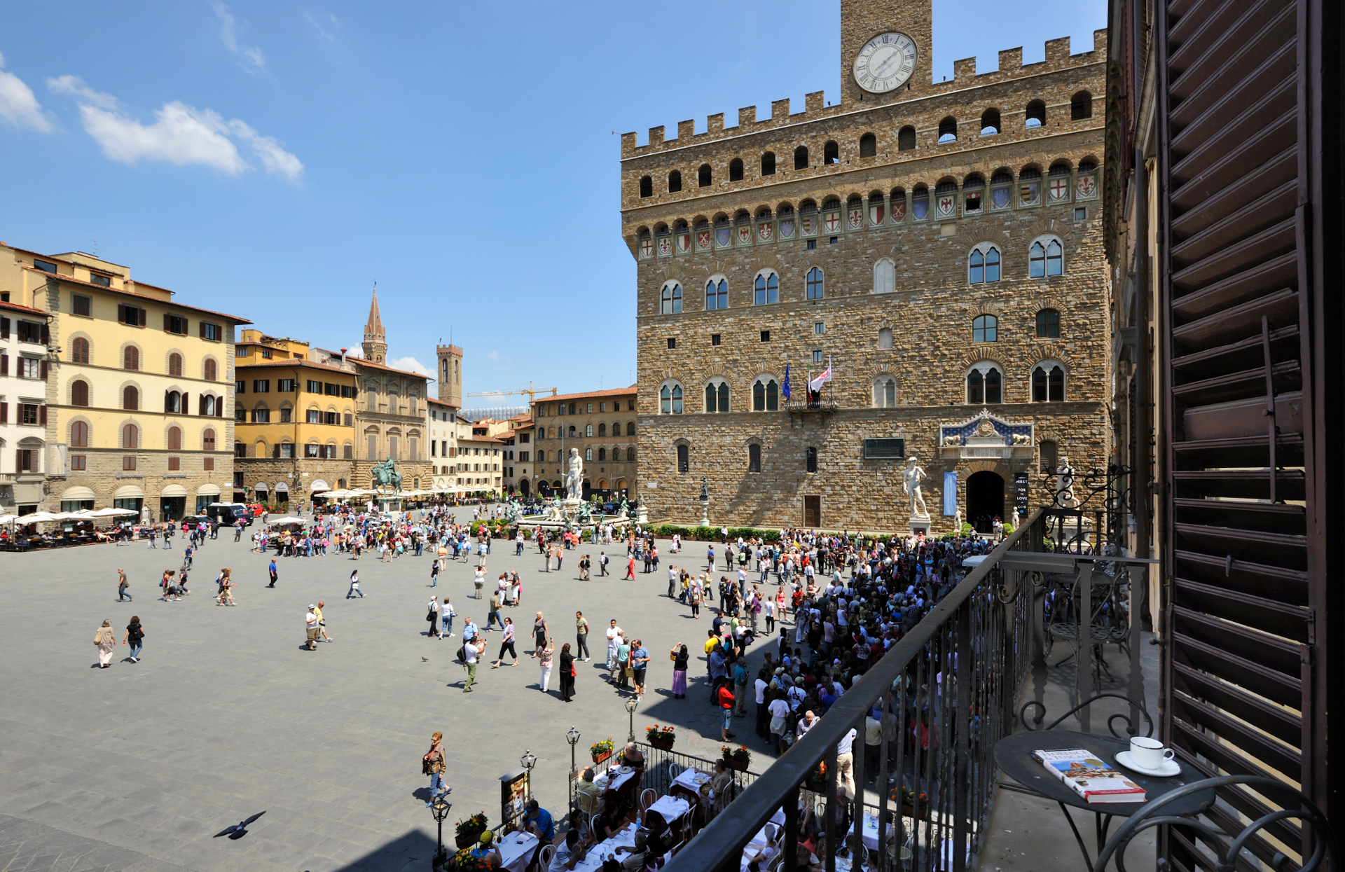 City Of Florence: With Piazza Della Signoria View