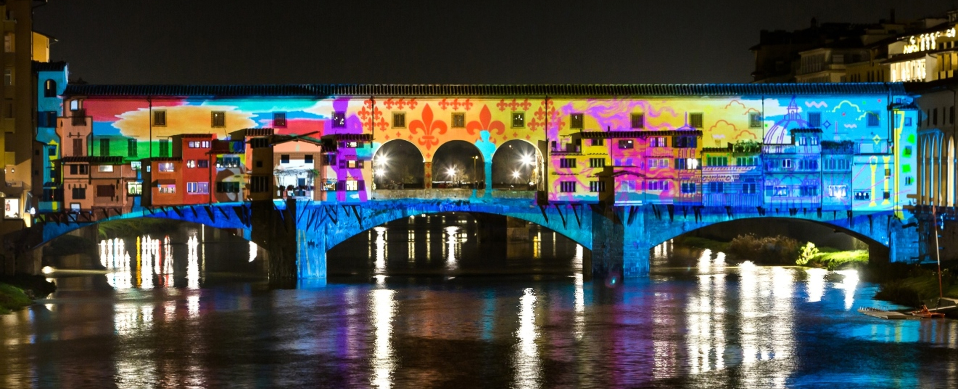 Christmas In Italy 2019.F Light Festival 2018 2019 Christmas Lights In Florence Italy